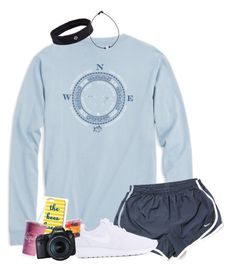 Apr 2020 - A fashion look from March 2018 by haleyliiz featuring Southern Tide, NIKE, Draper James, lululemon and Eos Cute Sporty Outfits, Cute Outfits For School, Cute Summer Outfits, Outfits For Teens, Pretty Outfits, Teen Fashion Outfits, Girl Outfits, Cute Sleepwear, Southern Tide