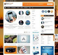 _CTPG_: Template Blogspot - GearCrowd - Responsive