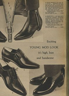 History of men's fashion and clothing including the Ivy League style, Mod Fashion and Hippie Fashion. What did men wear in the Mod Shoes, Men's Shoes, Shoe Boots, Dress Shoes, Shoes Men, Dress Pants, 1960s Fashion Mens, 60s And 70s Fashion, Mode Vintage