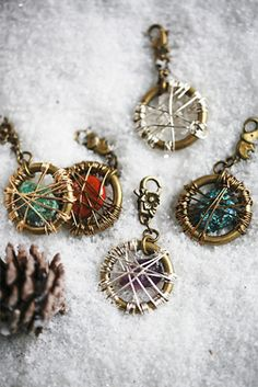 H.O.W.L Dream Catcher Dog Tags at Free People Clothing Boutique