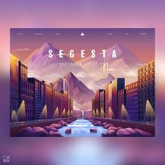 Web Design: 26 Examples of Creative Landing Pages Web Design Trends, Coperate Design, Layout Design, Design De Configuration, Web And App Design, Web Design Websites, Web Design Tools, Design Food, Minimal Web Design