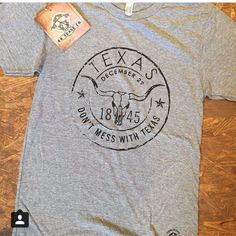 Texas Tee at The Rusty Rose Boutique