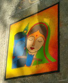 Trendy Ideas for fashion sketches paris paintings Rangoli Designs Simple Diwali, Best Rangoli Design, Rangoli Designs Latest, Free Hand Rangoli Design, Colorful Rangoli Designs, Rangoli Ideas, Rangoli Designs Images, Beautiful Rangoli Designs, Simple Rangoli