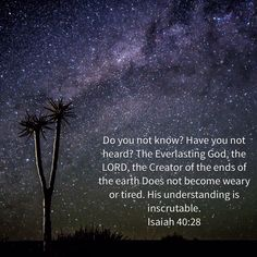 God is eternal. God is everlasting. And yet He invites us to draw near to Him and to be with Him for eternity.