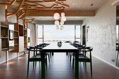 A Contemporary Apartment in Macau by PplusP Designers.