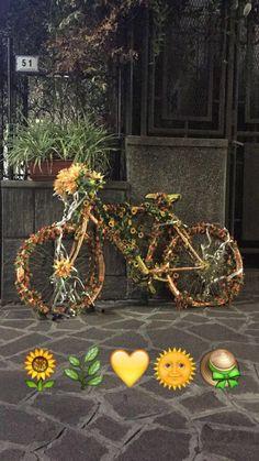 #green #yellow #orange #bike #liguria #inspiration #italy #favorite