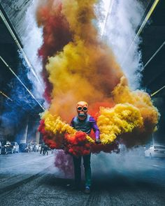 Excellent Photography Tips For Shooting Great Photos – Photography Smoke Bomb Photography, Urban Photography, Photography Reviews, Photography Themes, Color Photography, Vintage Photography, Great Photos, Cool Pictures, Smoke Tricks