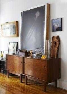inspiración de viernes: en la pared.  ¡Buen fin de semana! www.lamersa.com
