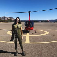 Helicopter trip in Arizona