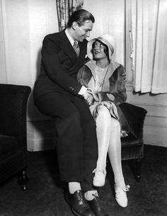 Douglas Fairbanks Jr and Joan Crawford, 1929.