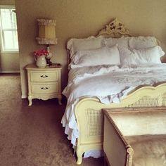 Little Farmstead: ~ Rustic Linen Ruffled Bedding ~