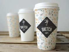 Coffee cup branding Published by Maan Ali