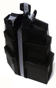 GOTHIC VALENTINE Coffin Gift Box Set Of 3 Horror Wedding Spooky Zombies Vampires
