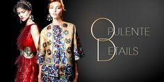 Opulente Details sorgen jetzt für einen noch glamouröseren Auftritt! #glamour #trends #fashion