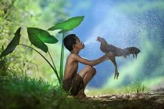 Take a bath by Andre Arment