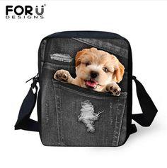 Adorable 3D Animal Shoulder Bags