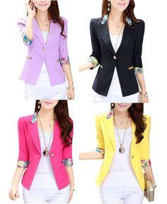Blazers  for Woman Casual Suit Jacket Vardigan Sweater Vest Half Sleeve Slim  #AroLora #Blazer