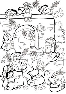 Catholic Crafts, Church Crafts, Sunday School Coloring Pages, Sunday School Projects, Bible Drawing, Religion Catolica, Bible Study For Kids, Kids English, Bible Coloring Pages