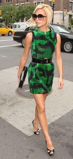 Victoria Beckham Print Dress