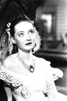 Bette Davis in Jezebel, 1938.