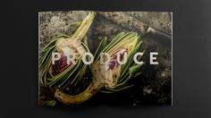 Tried&True — Brand identity, print design & photography for Service Foods, shot by Katie Quinn Davies.