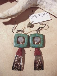 turquoise and metal