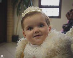 Sofia 😍 no seu batizado