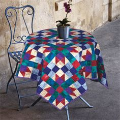FREE PATTERN: Shades of Milan (from The Quilter Magazine)