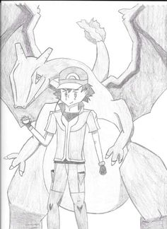 Ash Ketchum and his Charizard ^.^ ♡ I give good credit to whoever made this