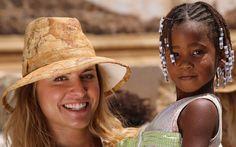 Michela e bimba capoverdiana