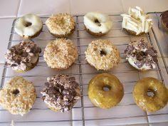 theworldaccordingtoeggface: Shelly's Mini Fall Spice Protein Donuts