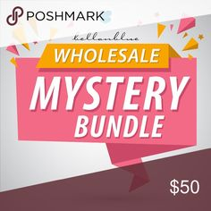 WHOLESALE MYSTERY BUNDLE Have you been thinking about getting into retail but want to dip your toes in instead of diving?   Well here's the PERFECT Mystery Bundle for you!!!    Bundle includes 5 brand new retail items: accessories, shoes, clothing, etc.  You cannot choose your items, ALL SALES ARE FINAL!!!   No exchanges or returns. Shoes