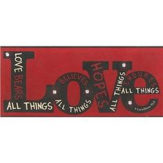 Open Road Brands 1 Corinthians 13:7 Love Tin Sign | Shop Hobby Lobby