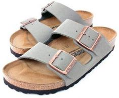 Looking for Birkenstock Arizona Women's Sandals Stone Birko-Flor ? Check out our picks for the Birkenstock Arizona Women's Sandals Stone Birko-Flor from the popular stores - all in one. Sock Shoes, Cute Shoes, Me Too Shoes, Shoe Boots, Shoe Bag, Women's Shoes, Ankle Boots, Dance Shoes, Sport Sandals
