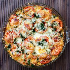 Stacey shares her recipe for simple and rustic Eggplant Tomato Onion Pie. It's healthy, quick, easy and takes advantage of some great summer veggies.