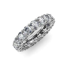 Your Personal Ejeweler..This Gorgeous Eternity Band is more than just a Band showing infinite circle of Forever Brilliant Moissanite with intricate Gallery work along its side which makes it an ultimate symbol of your unending Love. #Trijewels #Ejeweler #Eternity #Moissanite #EternityRing #WeddingBand #EternityBand #Ring #WomensRing #Gift #Love #Wedding #Engagement #Womenjewelry #JewelryBuyers #AnniversaryRing #Wedding #YellowGold #WhiteGold #RoseGold #StackableRing #Gold #GoldRing… Sapphire Eternity Ring, Sapphire Band, Eternity Bands, Forever Brilliant Moissanite, Lab Created Diamonds, Anniversary Rings, Beautiful Rings, 18k Gold, White Gold