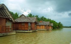 Floating rooms, Kerala