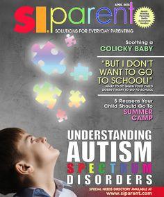 April 2015 - Staten Island Parent Magazine - understanding autism spectrum disorders