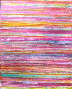 Love this fuchsia stripe by Lindsay Cowles.