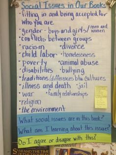 Fourth Grade Superstars: Social Issue Book Clubs (by Freya)