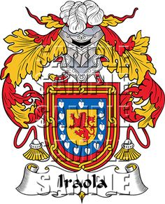 Iraola Family Crest apparel, Iraola Coat of Arms gifts