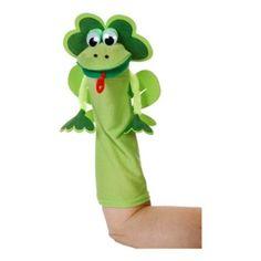 Art Wall Sock Friends Puppets Kit, Frog