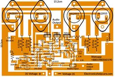 This is amplifier circuit diagram 200 watts. Electronic Kits, Electronic Circuit Projects, Electronic Schematics, Diy Electronics, Electronics Projects, Inverter Welding Machine, Switched Mode Power Supply, Guitar Display, Diy Amplifier