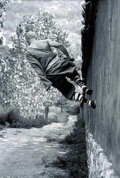 Shaolin Kung Fu - Photograph by Tomasz Gudzowaty