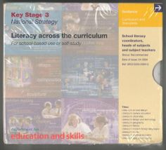 Literacy Across the Curriculum Key Stage 3: 4-2004 by Department for Education and Skills. $49.95. Literacy in physical education / Literacy in religious education. 10 CD Set. Literacy in art and design / Literacy in careers education / Literacy in citizenship. Literacy in modern foreign languages / Literacy in music. Literacy in design and tgechnology / Literacy in geography / Literacy in history. Publication date:     Mar 2004 Ref:     0263-2004 Audience:    ...