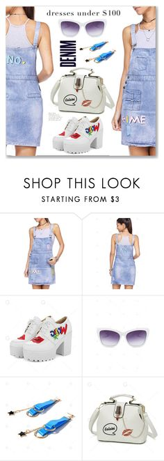 """Casual Summer Denim Dress"" by jecakns ❤ liked on Polyvore featuring Alima and modern"
