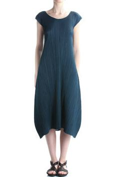PLEATS PLEASE Issey Miyake - Long Pleated Dress  382E
