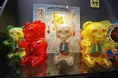 Gummi Bear Anatomy Toys by Jason Freeny via @laughingsquid