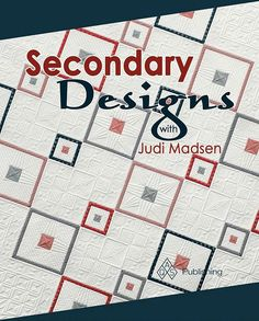 Um ya, so my second book is available and on sale for pre-order. I'm so excited. I'm loving the cover and the quilt featured. The book should be out in September. Get your autographed copy at the link in my profile. #judimadsen #longarmquilting #secondaryquiltingdesignswithjudi #secondarydesignswithjudimadsen #aqspublishing