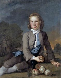 A Boy with Apples, c.1750  by Richard Wilson (Welsh 1713/1714–1782)